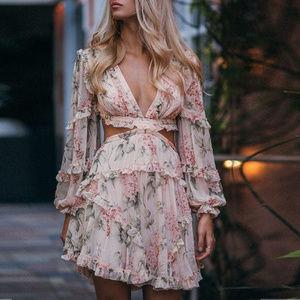 Ophelia Lace Up Dress